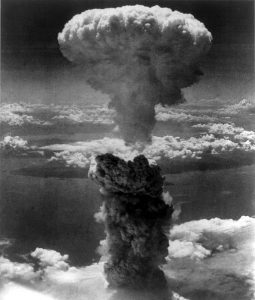 Atomic Bomb Dropped in Nagasaki during WWII