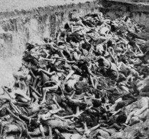 Skeletons of Jews Killed by Nazis in WWII