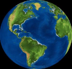 United Earth Globe