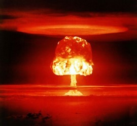 Nuclear Bomb Mushroom Cloud